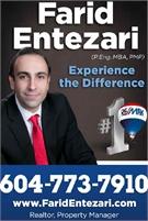Farid Entezari (P.Eng, MBA, PMP)